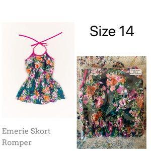 NIB size 14 girls romper
